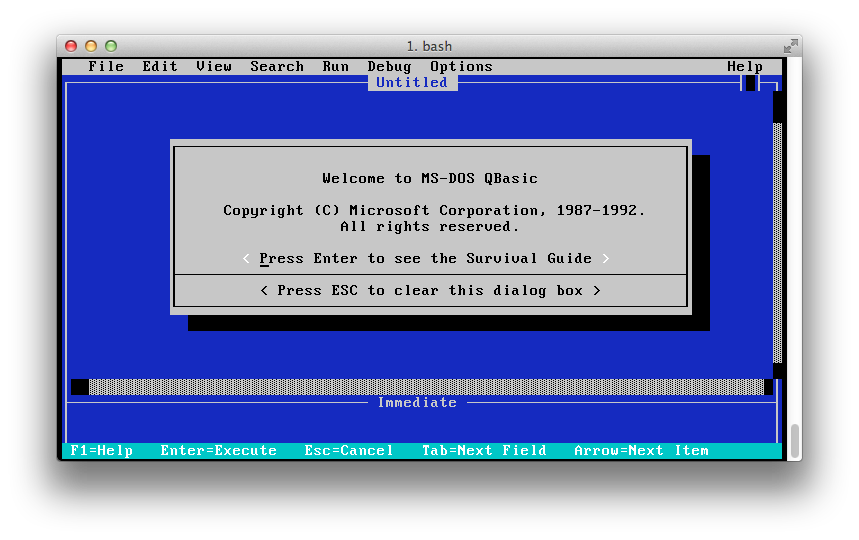 Qbasic For Mac